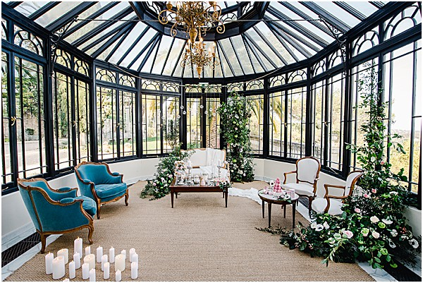 Chateau venue for this styled shoot in France