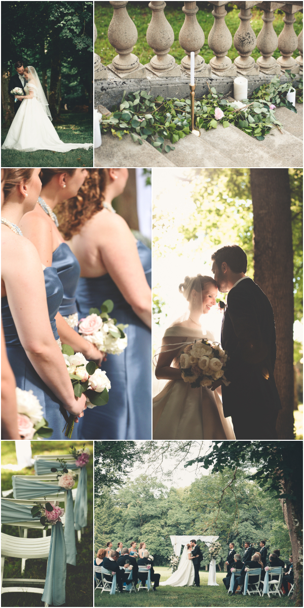 Classical Romantic wedding in Auvergne France Snapshot