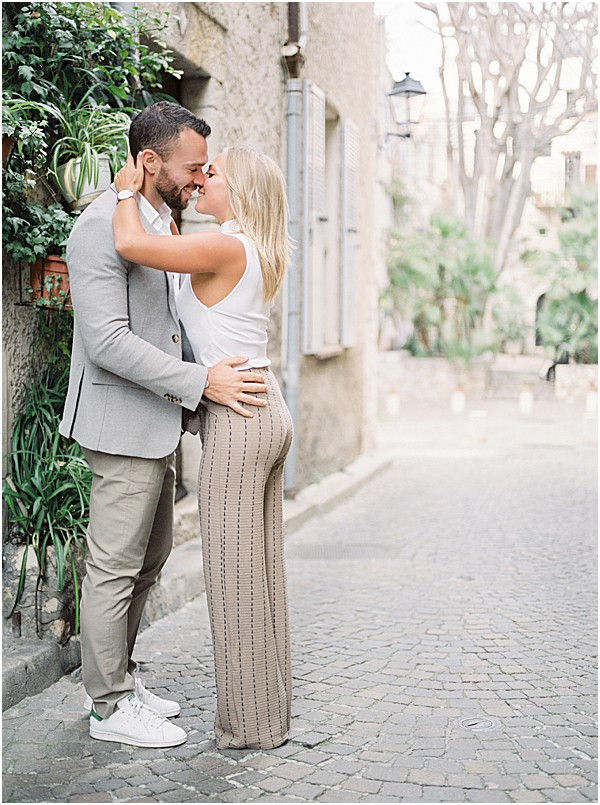 Engagement session from French Riviera