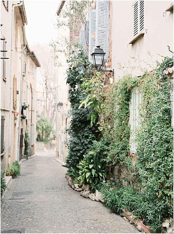 beautiful streets in France