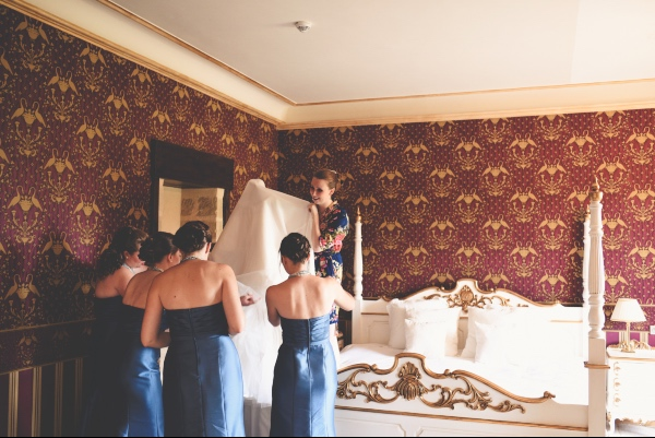 bridal suite bridesmaids