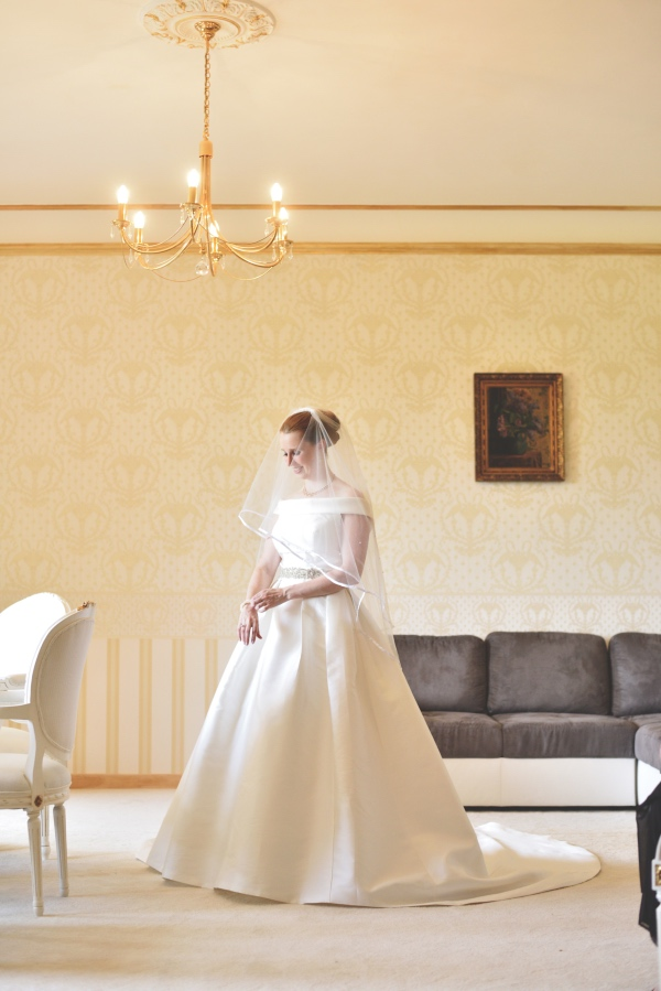 classical romantic bridal gown