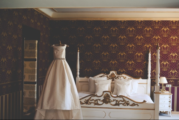 classical romantic bridal suite
