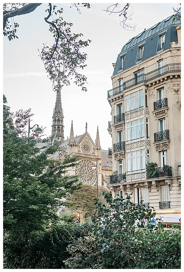 paris city centre views in France