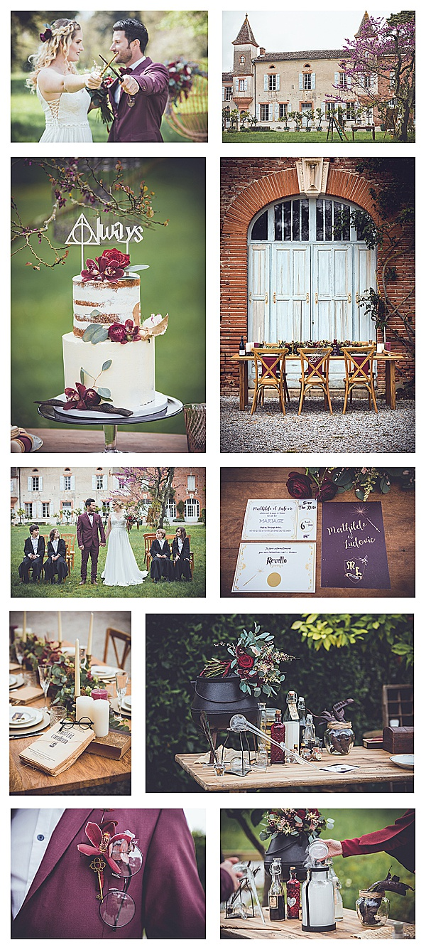 elegant harry potter wedding in france snapshot