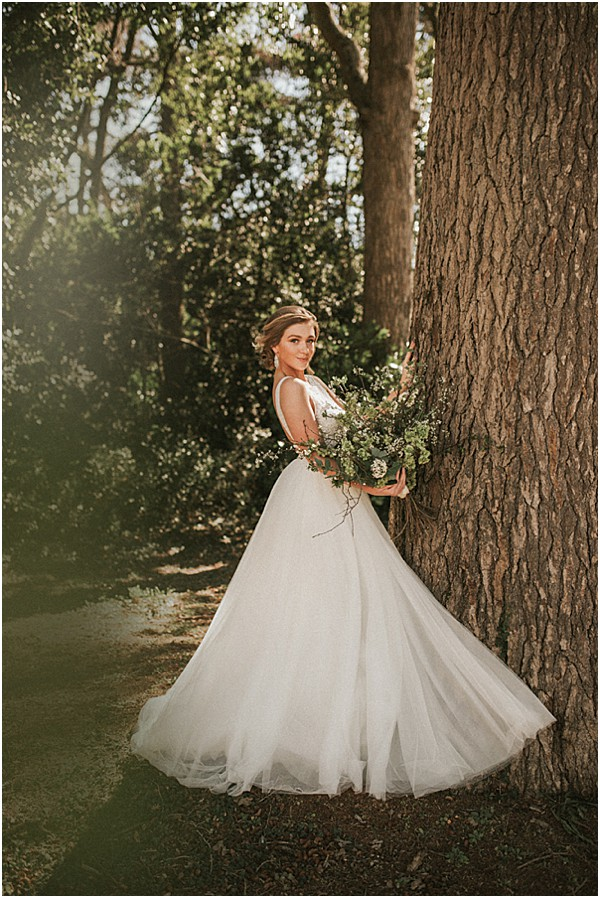 find at a local luxurious wedding dress boutique in grasse