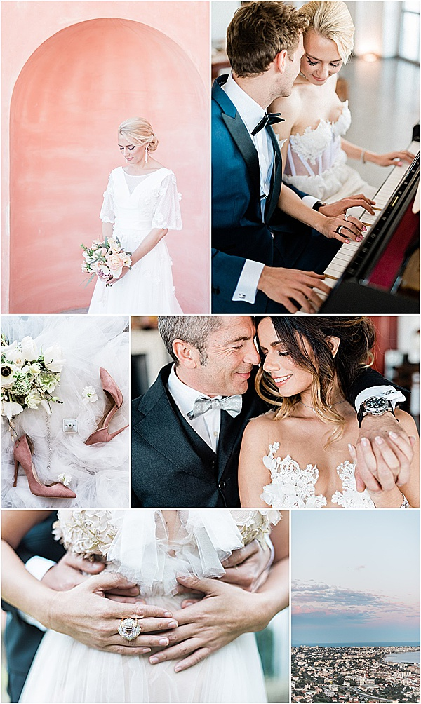 french riviera wedding inspiration snapshot dandelions and grace