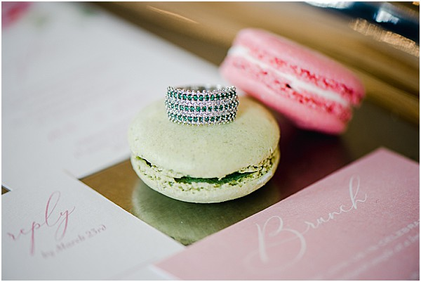 french sweets and stunning rings