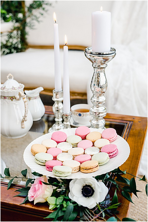 french sweets english themed styled shoot