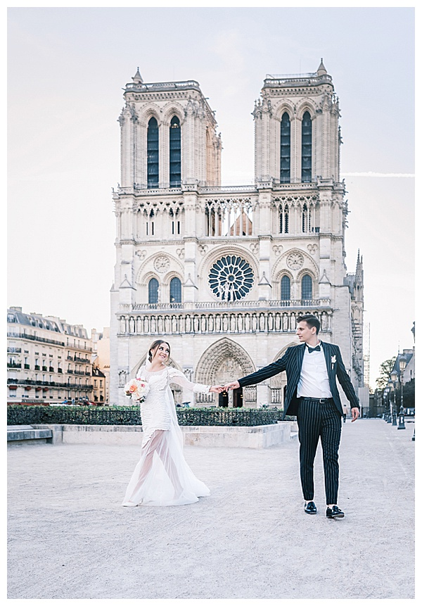 notre dame in love in france