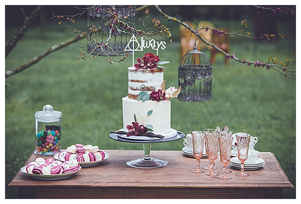perfect wedding sweets table magic themed