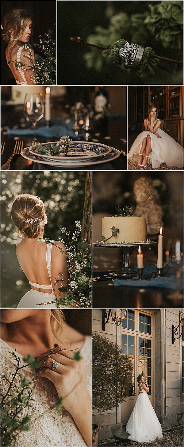 romantic languedoc wedding venue shoot snapshot