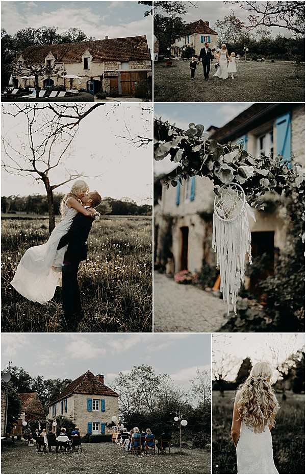 Countryside Wedding in Dordogne