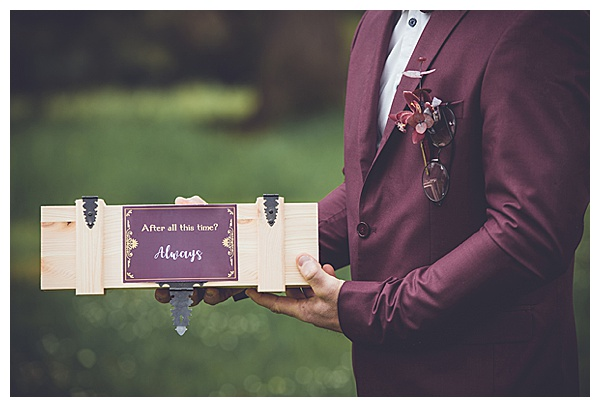 wine box tradition plum suit