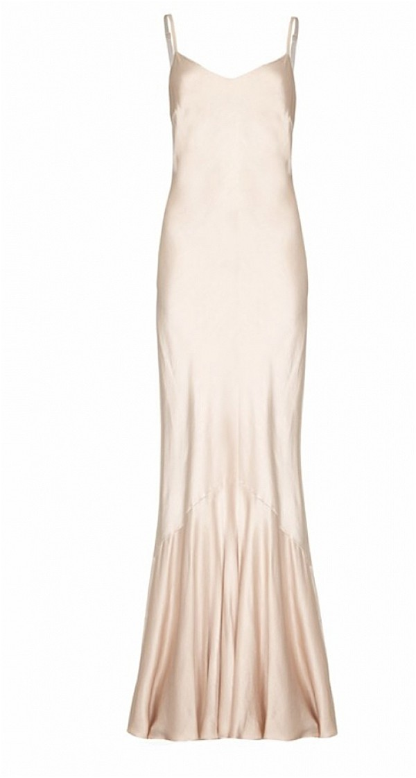 silk bridesmaids gown - kim