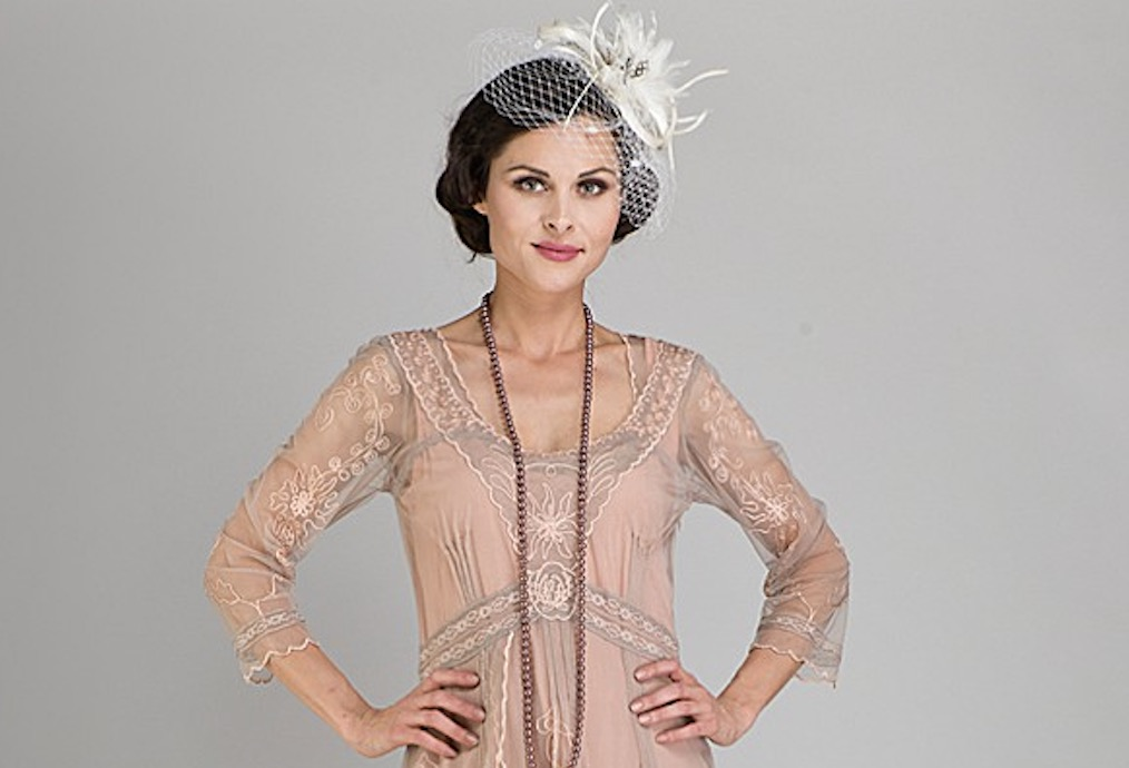 Downton Abbey Inspired Wedding Dresses Vintage gowns