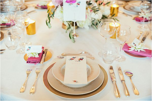 English meets French wedding design