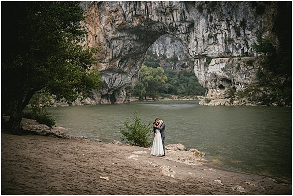 Intimate Ardeche wedding in Provence