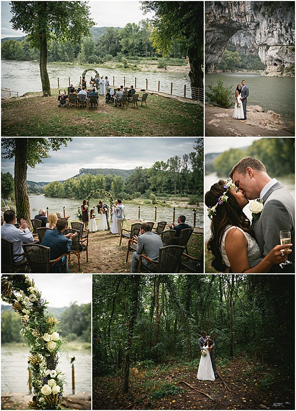 Intimate Ardeche wedding in Provence Snapshot