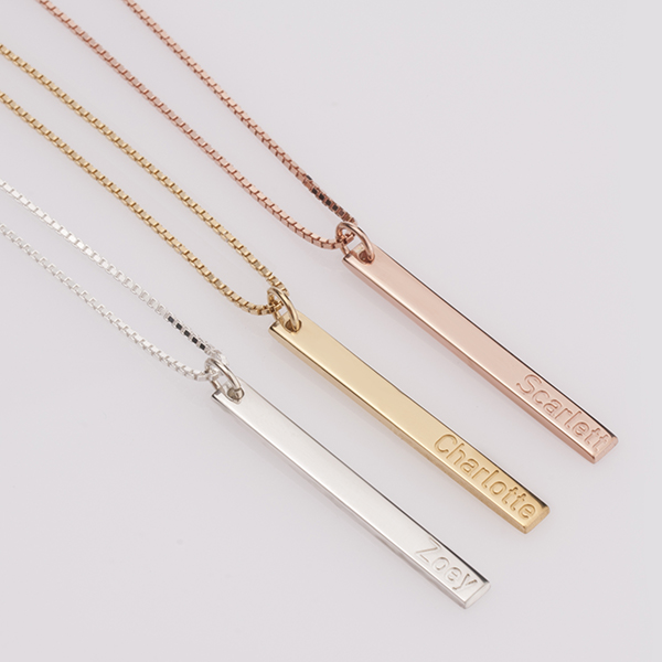 Skinny Bar Necklaces