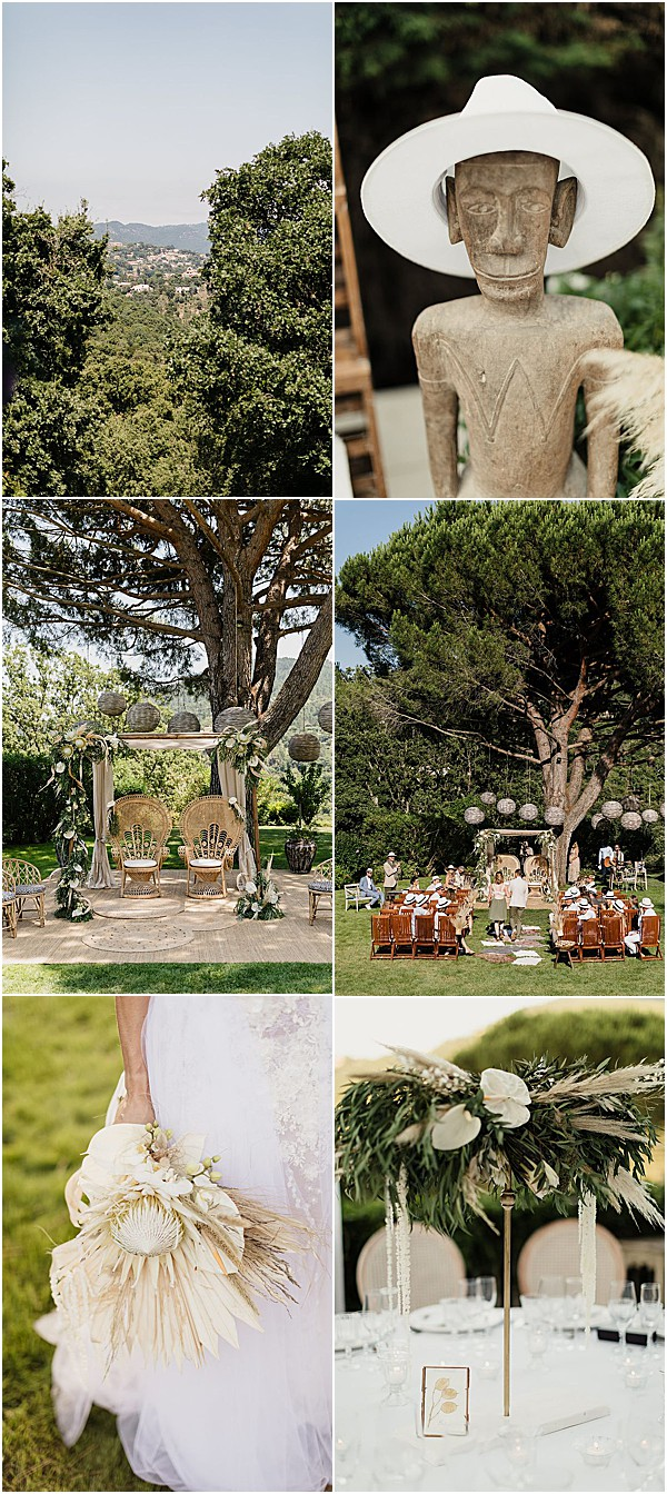 Stylish African Chic Wedding Decor Snapshot • Images by Sébastien Boudot