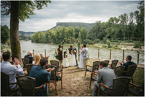 beautiful ceremony views