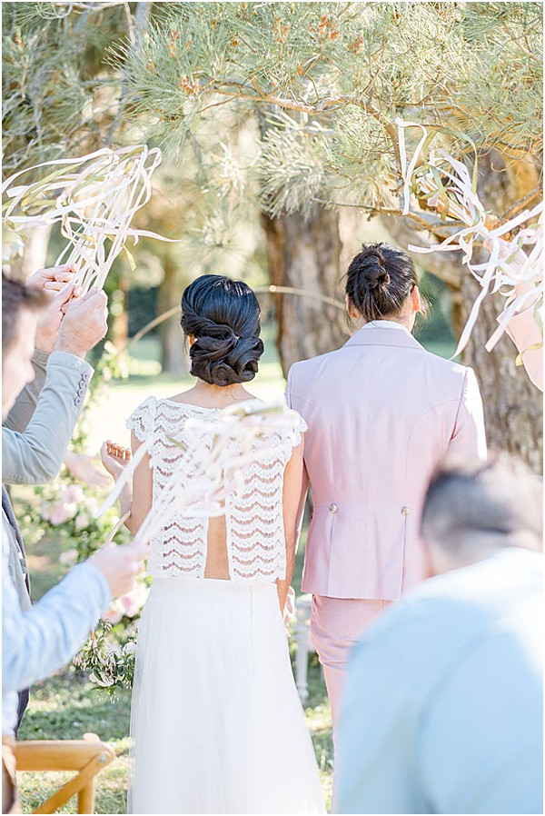 contemporary aspects to the ceremony