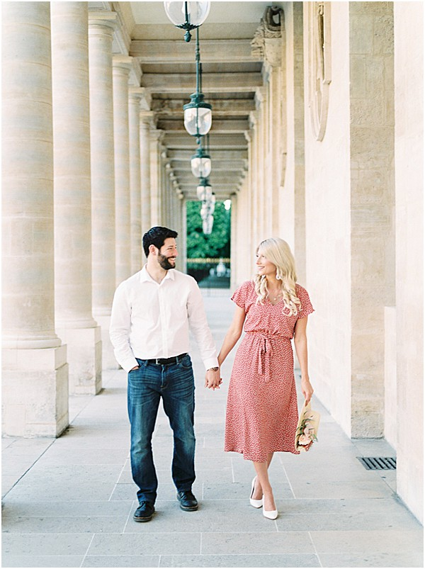 grand hall in Palais Royal • Images by Jennifer Hodder Photography