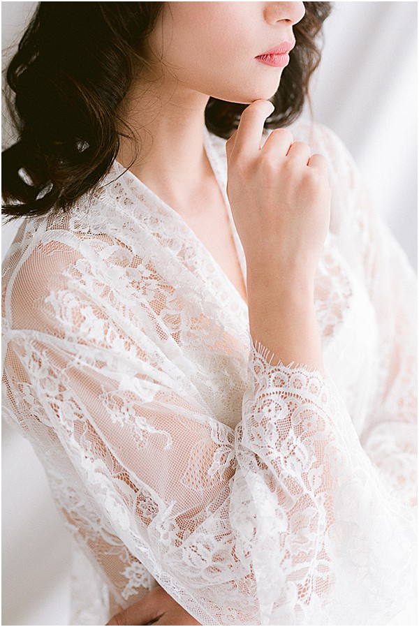 how to photograph lace robes