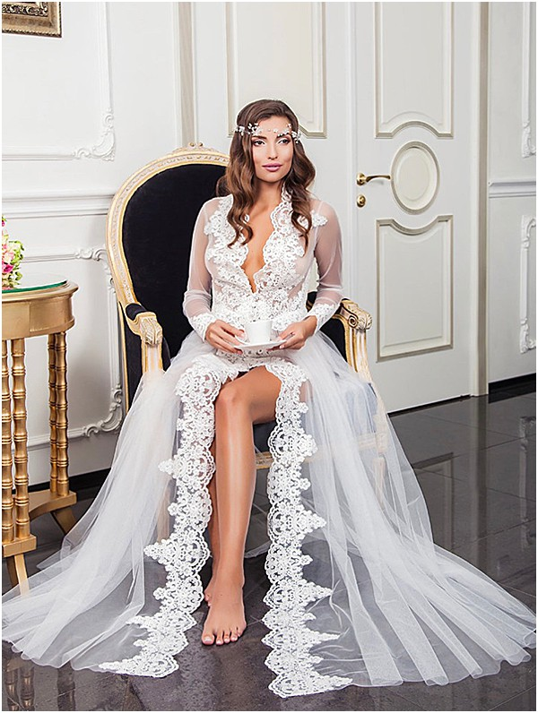 lux and flowy maternity wedding dresses