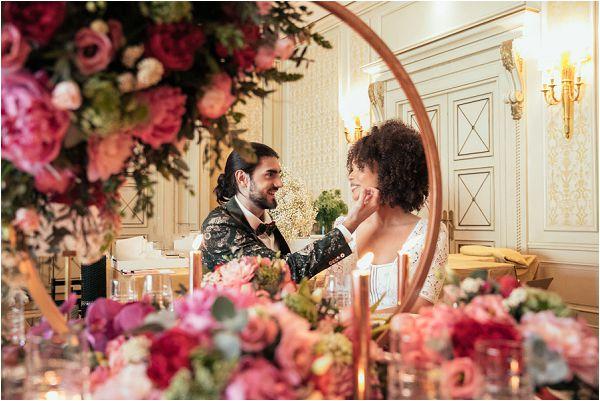 luxury wedding table centres