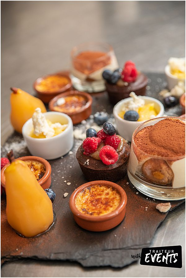 French Wedding Caterer Café gourmand