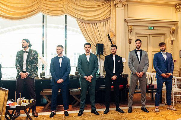 Wedding Table Contest Grooms Attire