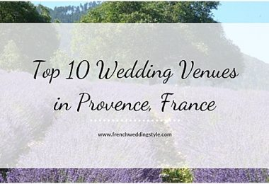 best wedding venues in provence