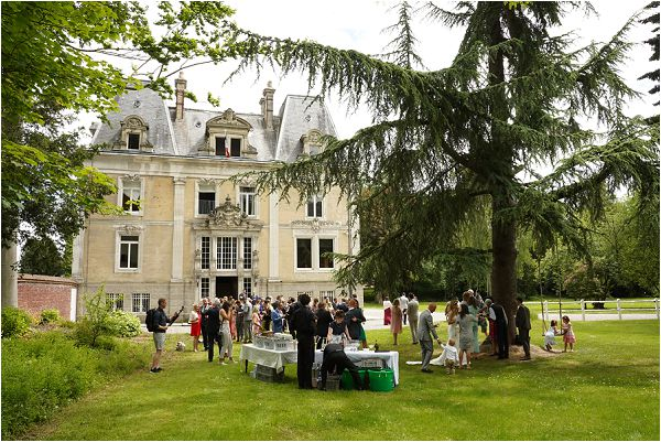 Chateau d'Hallines wedding venue in Northern France