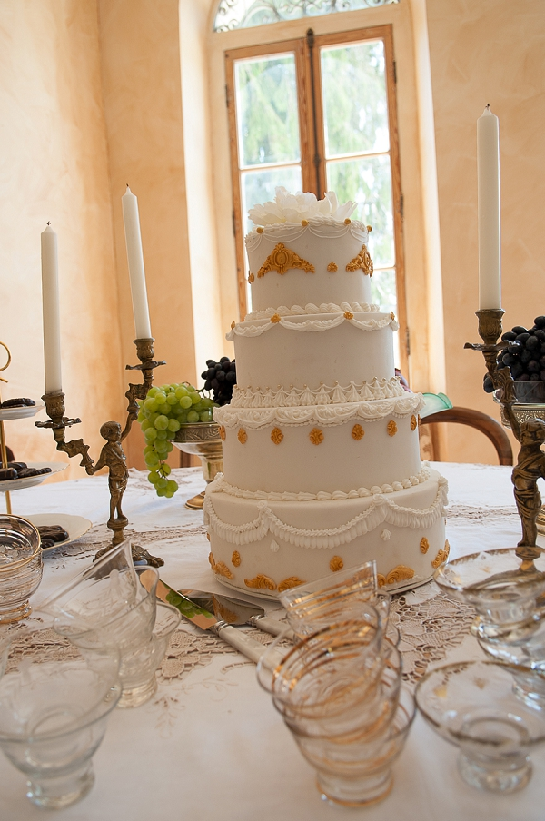 4 tier wedding cake france