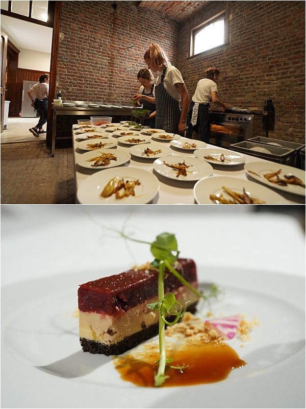 Chateau d'Hallines wedding catering