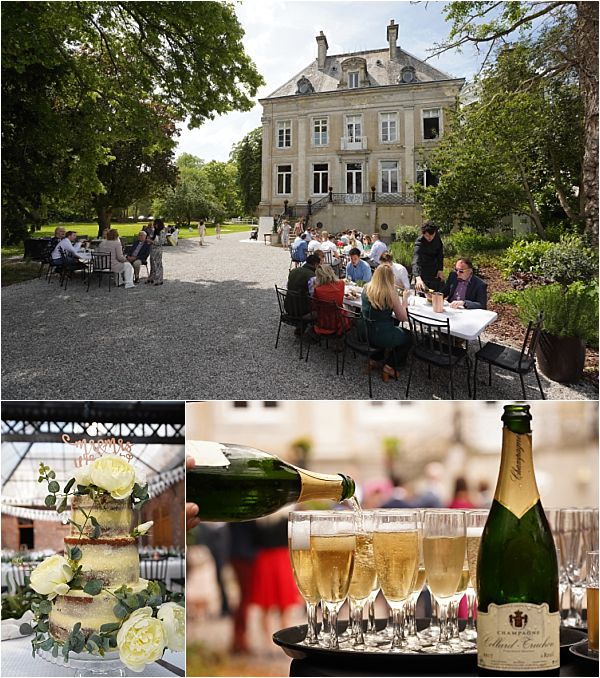Wedding dining and catering in Northern France