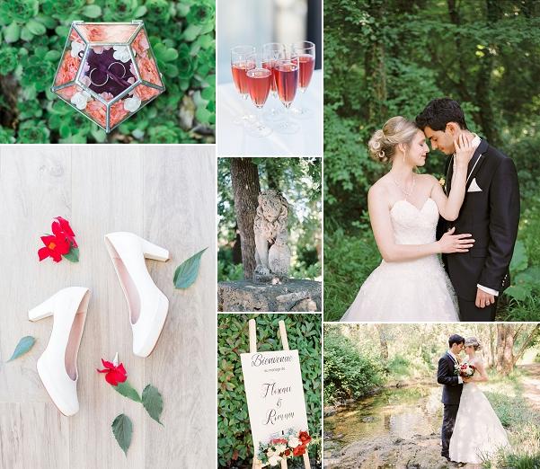 Classical Valbonne Wedding France Snapshot