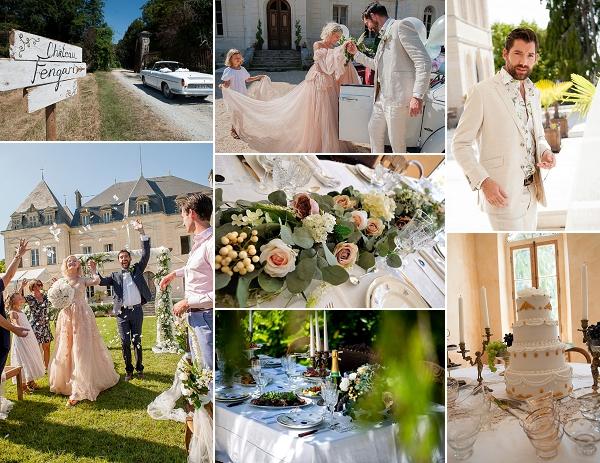 Destination Wedding Inspiration at Chateau Fengari Snapshot