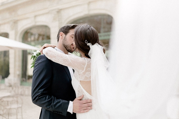 Emerald and Blush Wedding France