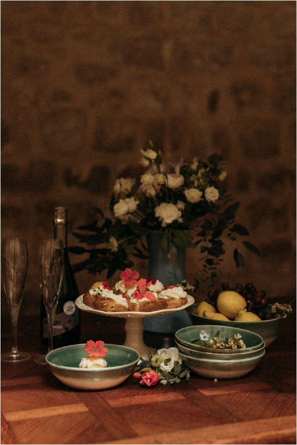 Fine art wedding catering * Image by Pattie Fellowes