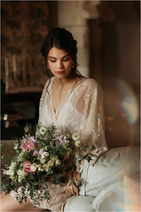 French Bridal Style * Image by Pattie Fellowes