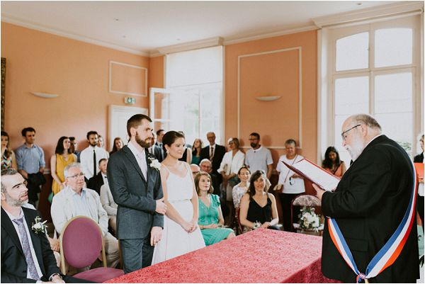 French civil wedding * Image by tub of jelly