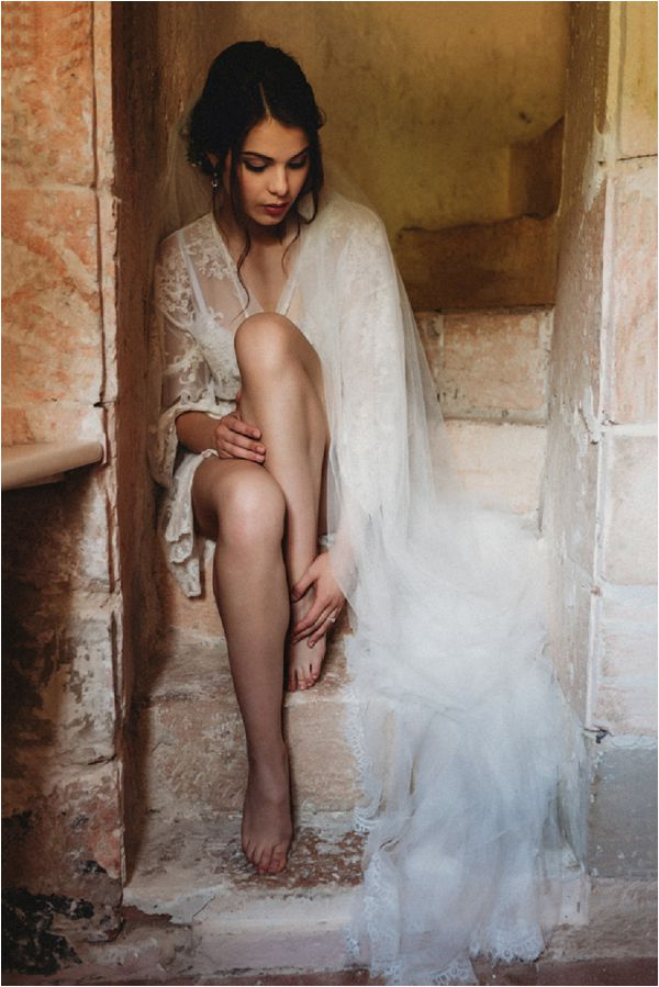 French lace bridal inspiration * Image by Pattie Fellowes