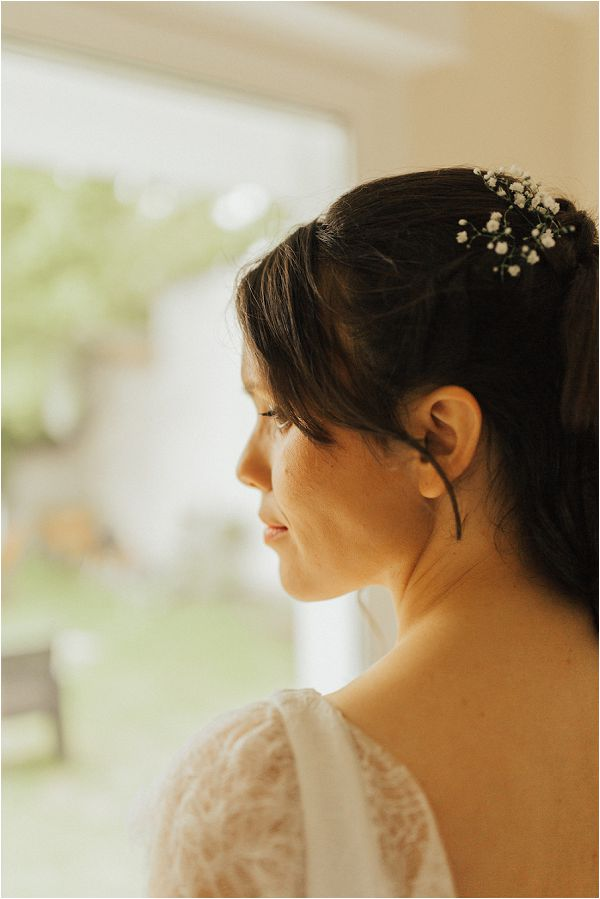 French wedding hair and make up by Matthias Toth Photography