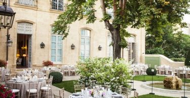 Hôtel de Caumont Wedding Venue in the South of France