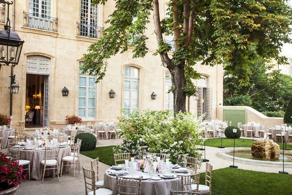 Hôtel de Caumont Wedding Venue in the South of France