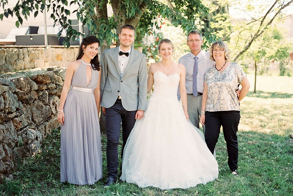Intimate South of France wedding