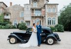 Rosa Clara Bride for Vendee Wedding